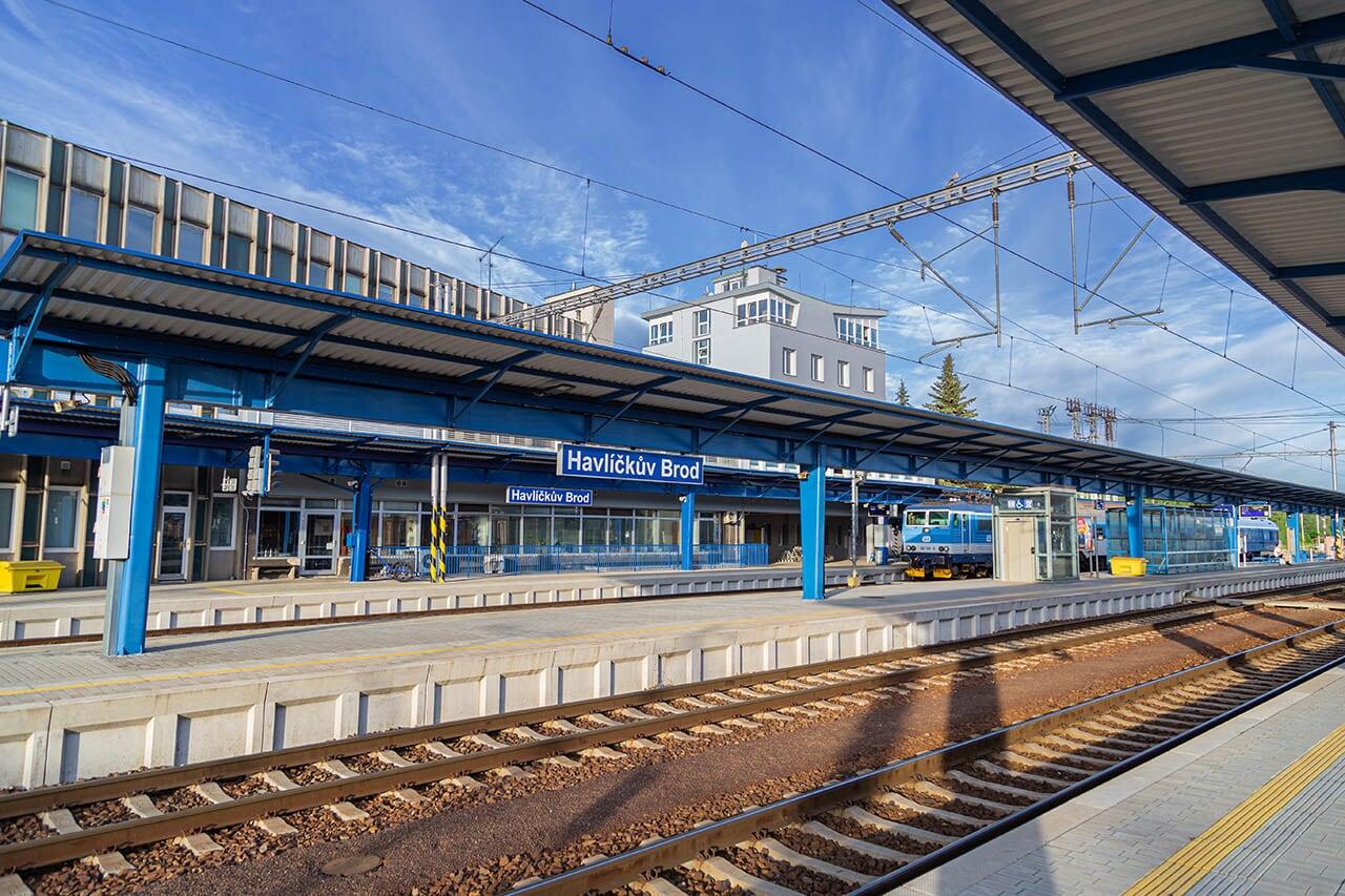 Havlíčkův Brod - rekonstrukce nástupiště