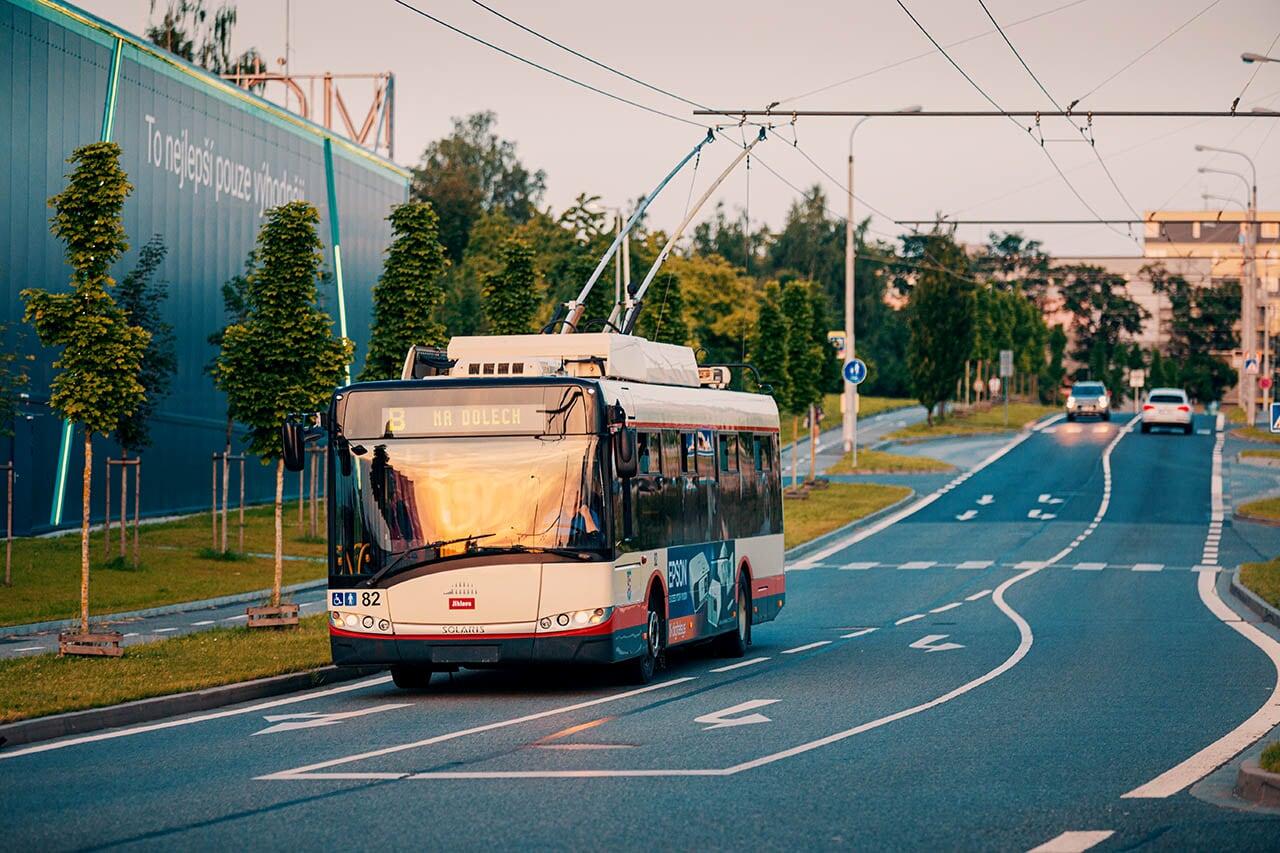 Jihlava - trolejová doprava