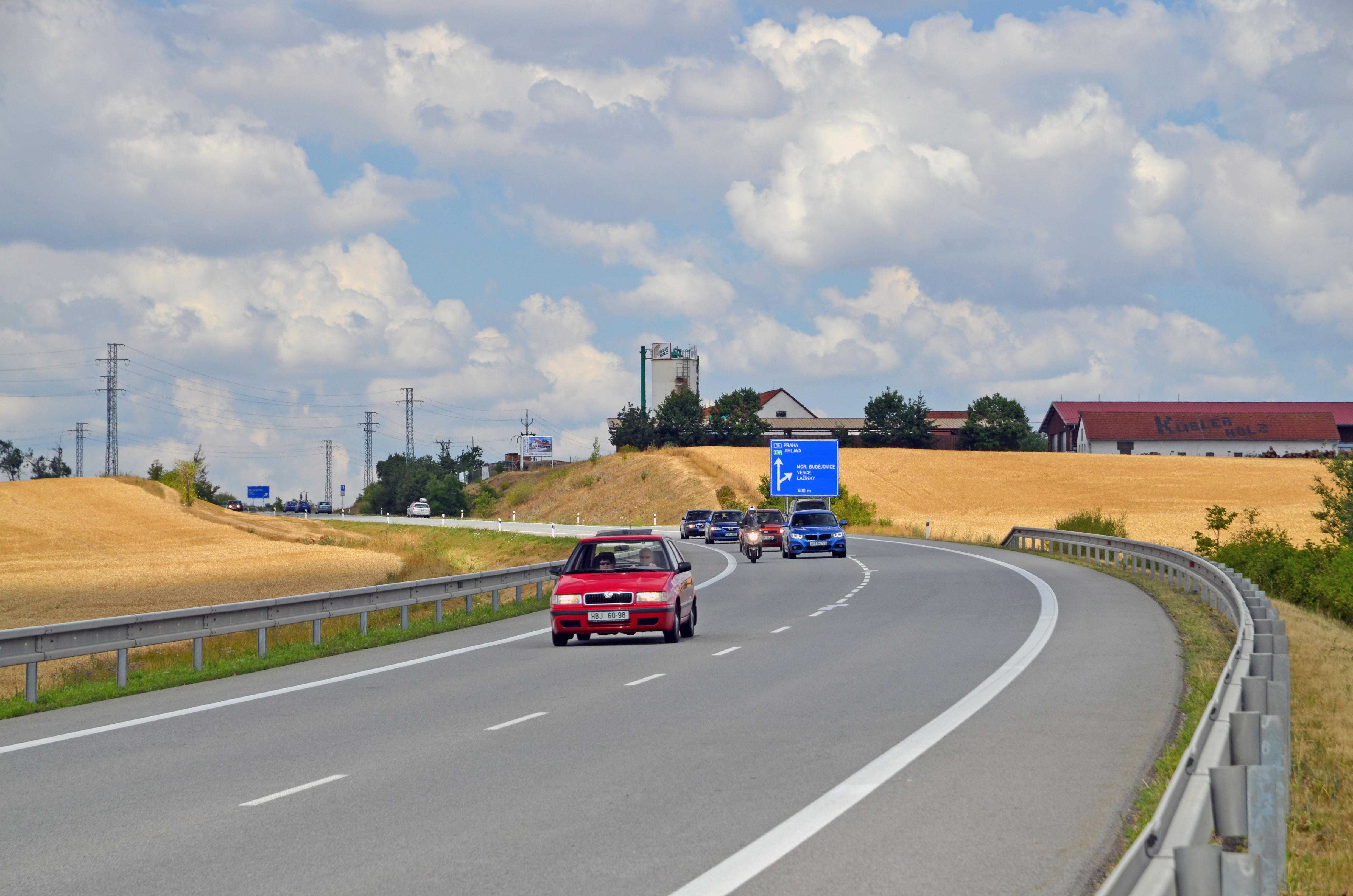 Silnice I/38 Moravské Budějovice